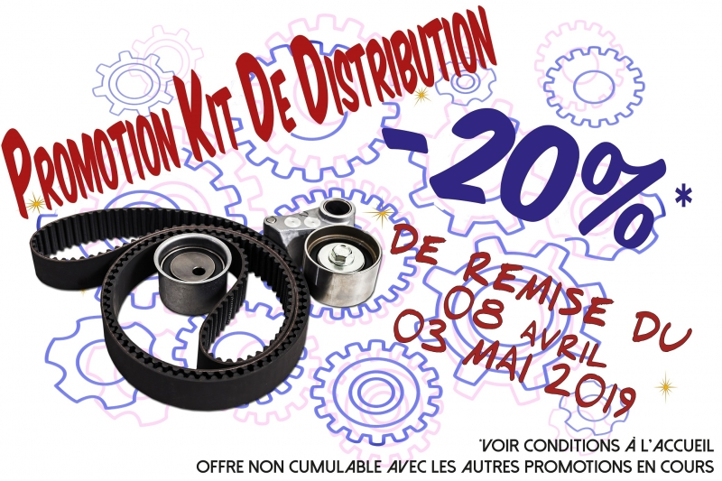 OPERATION KIT DE DISTRIBUTION