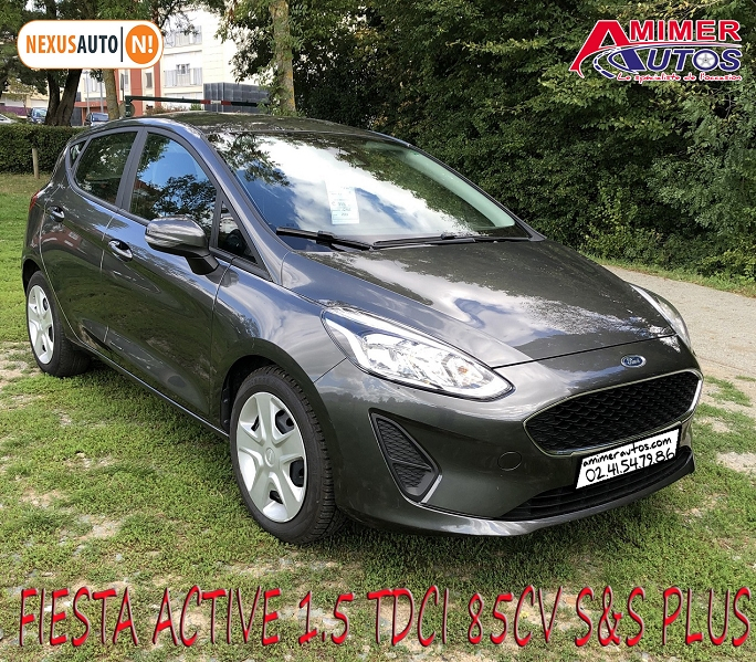 Photo 1 de l'offre de FORD FIESTA ACTIVE 1.5 TDCI 85CH S&S PLUS EURO6.1 à 9990€ chez Amimer autos