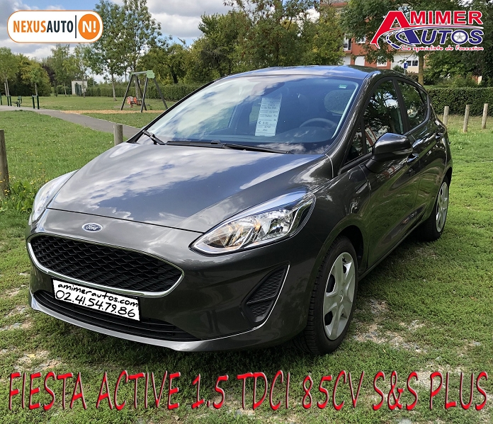 Photo 2 de l'offre de FORD FIESTA ACTIVE 1.5 TDCI 85CH S&S PLUS EURO6.1 à 9990€ chez Amimer autos