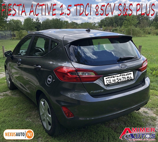 Photo 4 de l'offre de FORD FIESTA ACTIVE 1.5 TDCI 85CH S&S PLUS EURO6.1 à 9990€ chez Amimer autos
