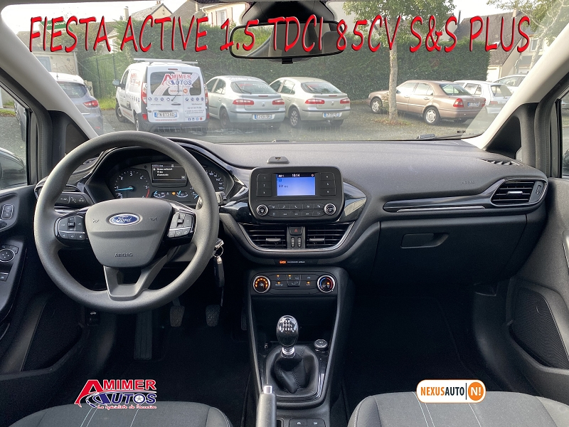 Photo 5 de l'offre de FORD FIESTA ACTIVE 1.5 TDCI 85CH S&S PLUS EURO6.1 à 9990€ chez Amimer autos